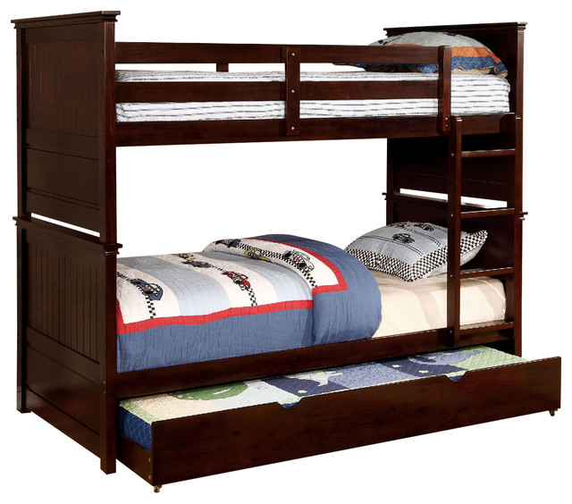 Fairfax Country Style Twin Over Bunk Bed