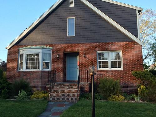 Need to change the color of my front door help - How to change the color of brick exterior ...