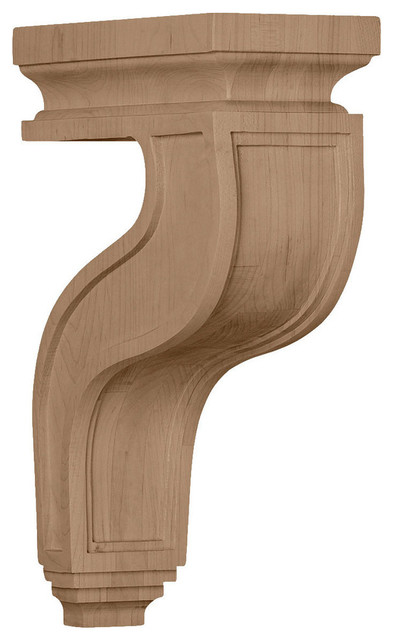 Hollow Back Corbel 4 W X 8 1 2 D X 13 H Traditional Corbels By Architecturaldepot