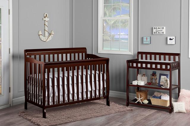 Dream On Me Ashton Convertible 5In1 Crib Contemporary Cribs