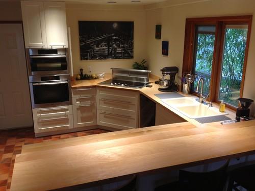 Kitchen reno in Richmond, BC