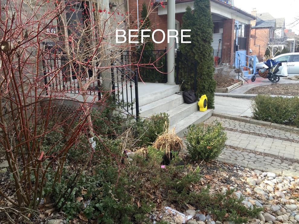 Bloor West Village Front Yard Makeover