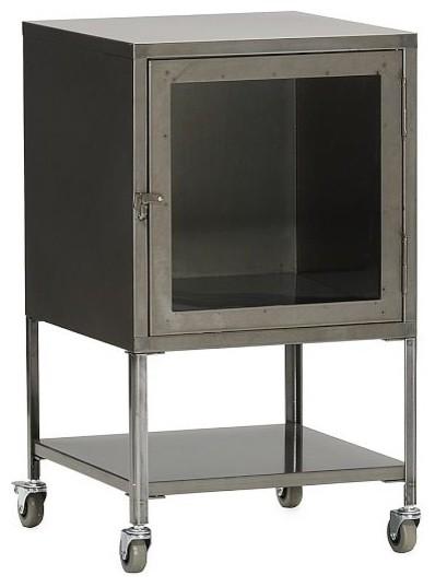 Short Industrial Metal Bath Cabinet