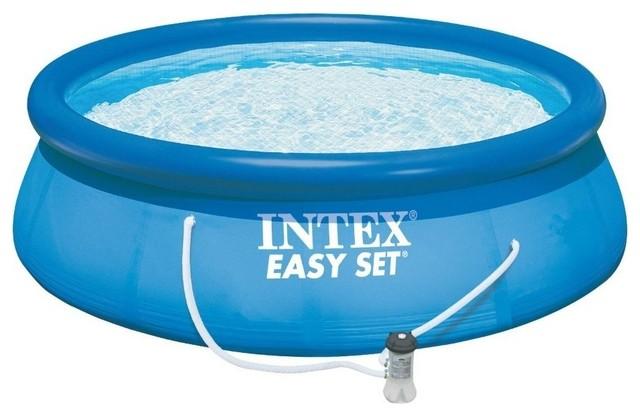 Intex Easy Set Swimming Pool, 15&x27;x42.
