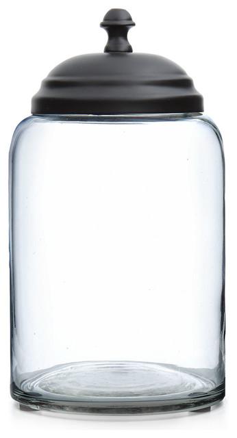 Lonestar Glass Canister
