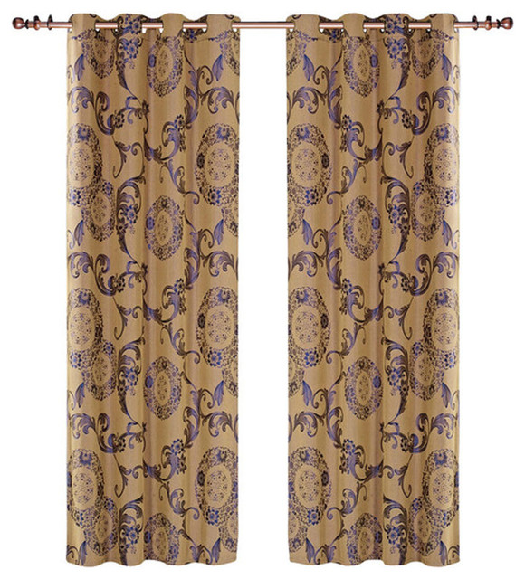 Dolce Mela - Dolce Mela Dmc469 Window Treatments Damask Drapes ...