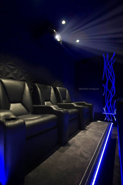 Private Home Cinema Rooms Contemporary Marseille By Waterfall Audio
