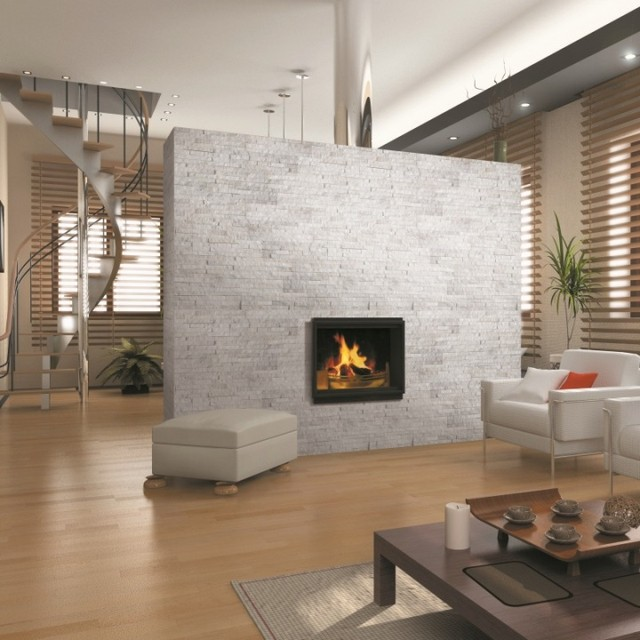Petra White Split Face Tiles Natural Stone Wall Tiles