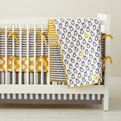 Yellow Crib Bedding On Not A P Contemporary Baby By