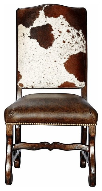 Outstanding Classic Cowhide Dining Chair Set Of 6 Bralicious Painted Fabric Chair Ideas Braliciousco