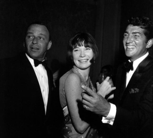 85ceb33f4 Frank Sinatra With Shirley Maclaine And Dean Martin Photo Print, 30x24