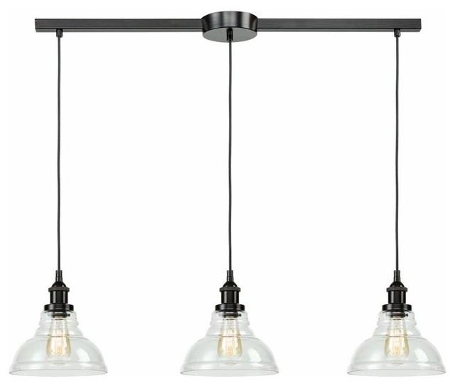3 Lights Industrial Kitchen Island Lighting Pendant Lights Oil
