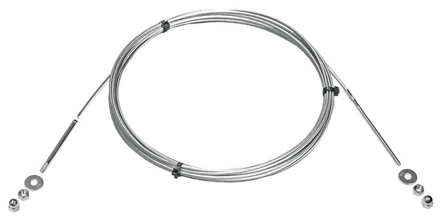 Cable Railing Kit - 20' Stainless Steel Cable and End ...
