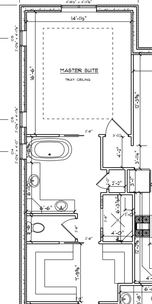 Need Help With Master Bathroom Floor Plan