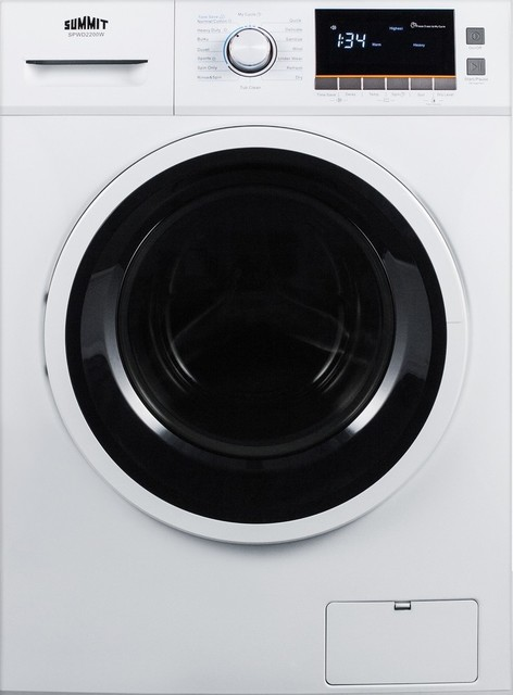 24 Quot Wide Washer Dryer Combo For Non Vented Use Spwd2200w