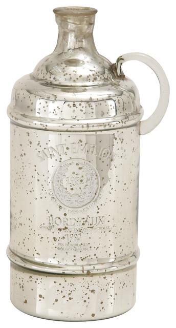 Uma Inc Glass Bottle Jug 8 Quot X14 Quot Vases By Peazz