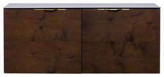 Drift Sideboard Cabinet, Black, Smoked