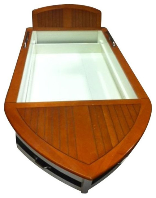 SOLD OUT!  Pottery Barn Children's Boat Bed - $1,399 Est. Retail - $420 on Chair