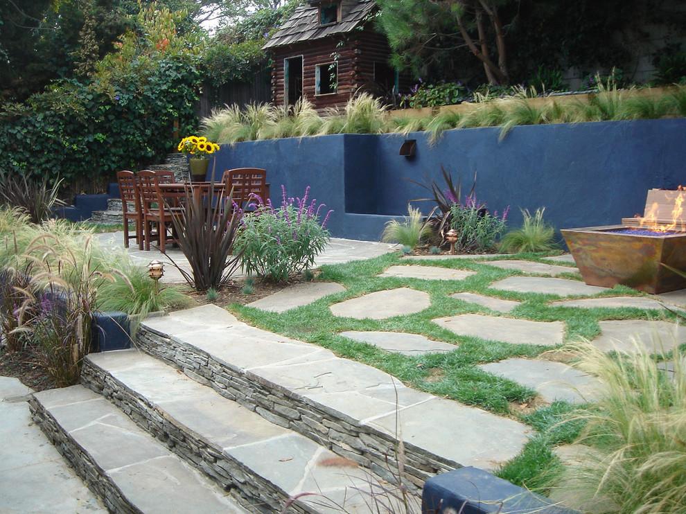 Modern Back Yard