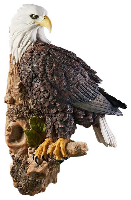 American Bald Eagle Wall Sculpture