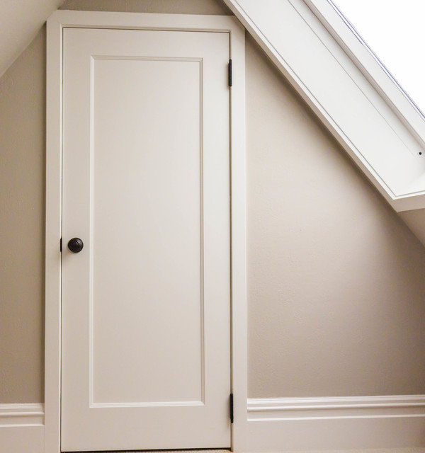 One-Panel MDF Doors - Traditional - San Francisco - by Interior Door Replacement Company