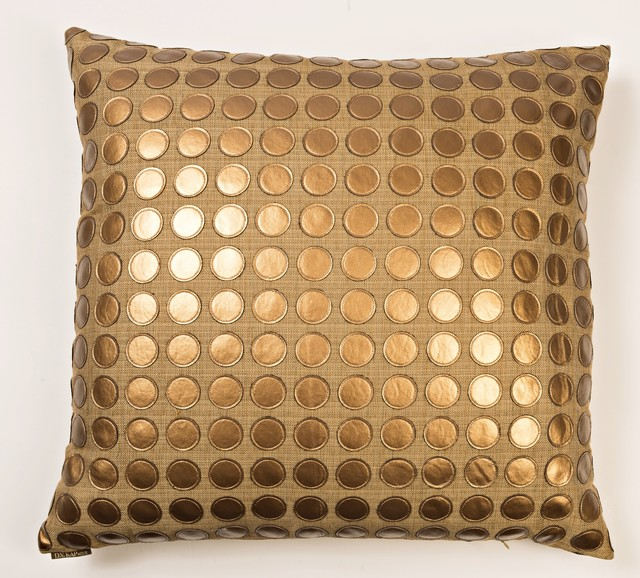 Love Game Throw Pillow Bronze Contemporary Decorative Pillows Stunning Bronze Decorative Pillows