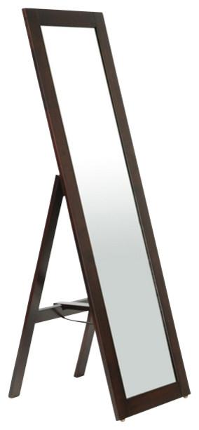 Mclean Mirror, Lund Dark Brown.