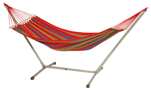 Aruba Jet Set Hammock - Red - Tropical - Hammocks And Swing Chairs ...