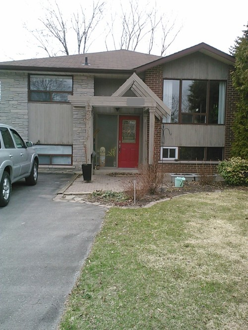 Nice My House Is Too Brown. Need Help With Exterior Colours!
