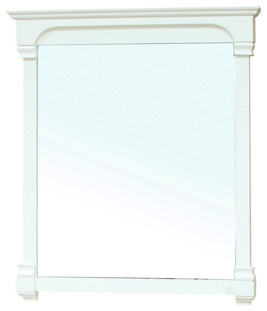 white wood framed bathroom mirrors 42 inch solid wood frame mirror white bathroom 24702