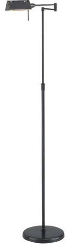 Lite Source Ls-960d/brz Pharma 1 Light Halogen Floor Lamp.