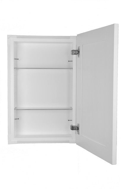 Shaker Style Frameless In Wall Bathroom Medicine Cabinet - Transitional - Medicine Cabinets - by ...