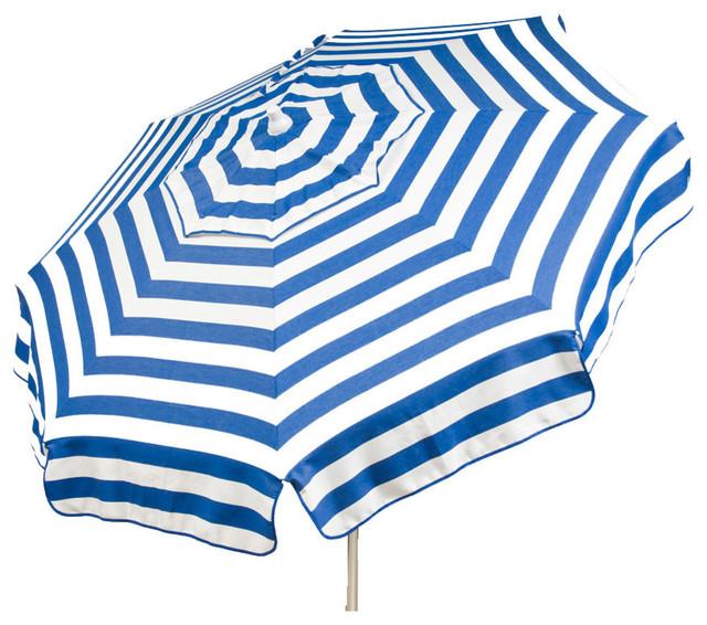 Destinationgear Italian Acrylic Stripes Umbrella Outdoor