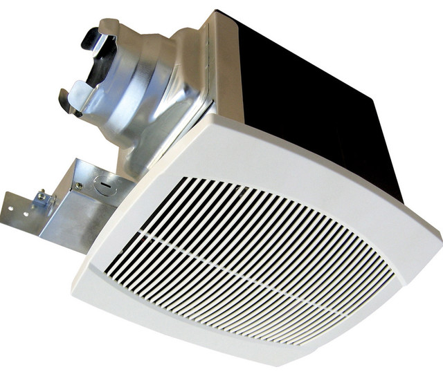 AeroFan Traditional Bath Fan, 120/90 CFM - Contemporary ...
