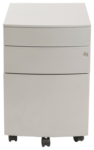File Cabinet, Silver.
