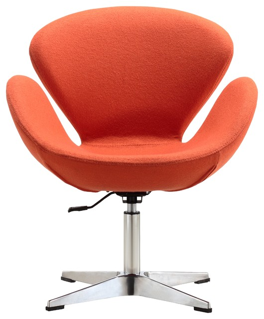 raspberry leisure chair orange