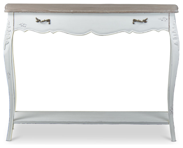 French Console Table bourbonnais wood traditional french console table - traditional