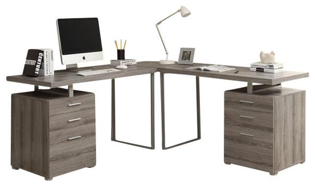 dilbert corner desk camel
