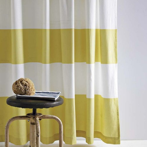 contemporary shower curtains by westelm.com