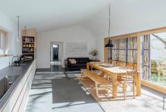 Nachhaltiger Umbau eines 100 Jahre alten Bruchsteinhauses