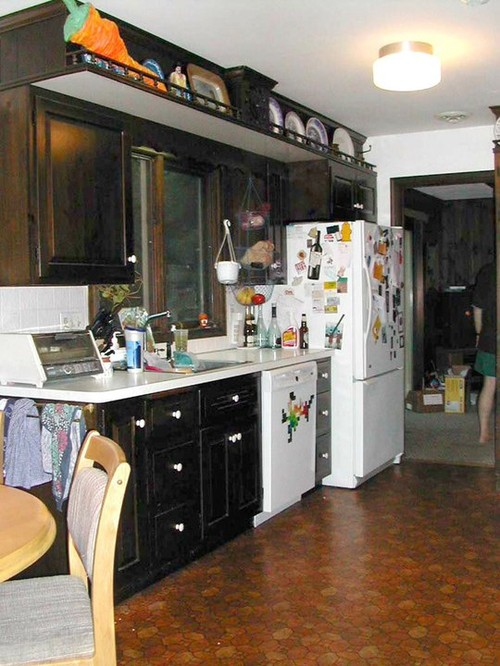 Before after kitchen in emmaus pa for Living room yoga emmaus pa