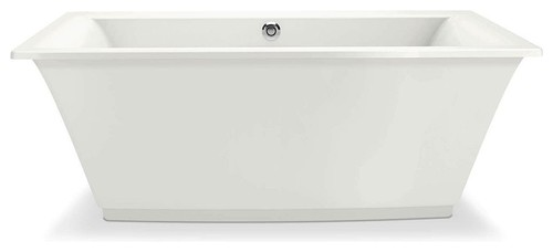 "MAAX Optik Acrylic 66""x36""x24"" Bathtub, White"