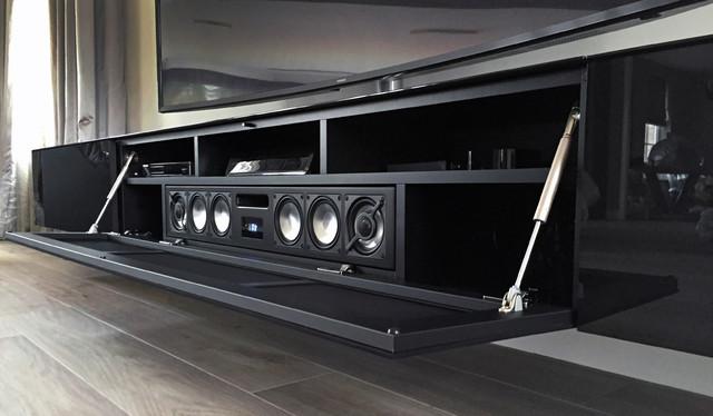 spectral ameno mit bra2 soundsystem - modern - wohnzimmer, Wohnzimmer