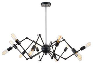 Arachnid 12 light chandelier industrial chandeliers by light arachnid 12 light chandelier industrial chandeliers by light society mozeypictures Choice Image
