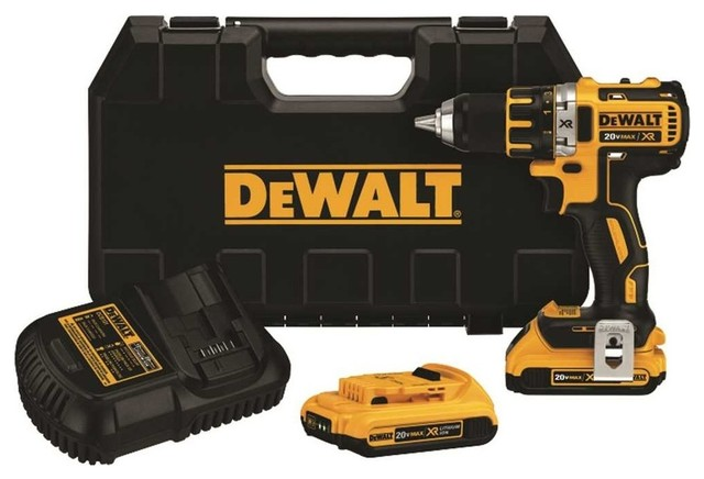 Dewalt 20 Volt Max Xr Lithium Ion Brushless Compact Drill/driver Kit