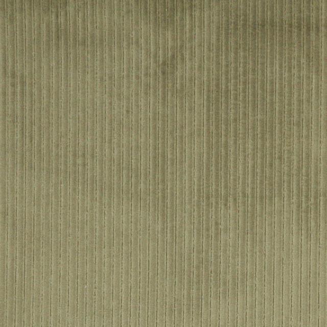 green stripe corduroy velvet upholstery fabric by the yard