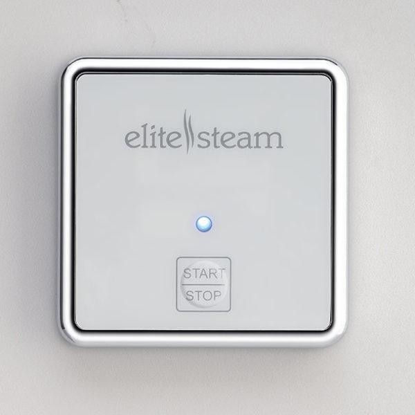 Elite Steam Outside Auxiliary ON/OFF control, Polished Chrome by Elite Steam