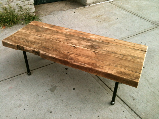 Reclaimed Rafter Coffee Table Amp Reviews Houzz