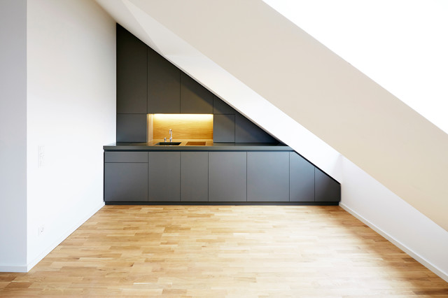 pythagoras k che modern m nchen von holzrausch. Black Bedroom Furniture Sets. Home Design Ideas
