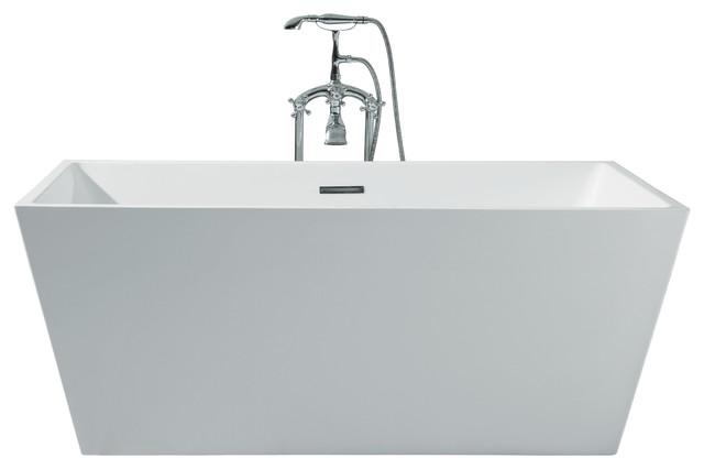 "Platinum Verona 63"" Freestanding Bathtub."